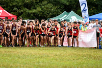 Allatoona Cross Country during Big Peach Mustang Stampede