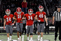 Allatoona vs Coffee County in Elite Eight GHSA State Playoffs Friday Night Football action