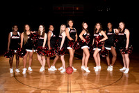 2019-2020 Varsity Basketball Cheerleader Shoot